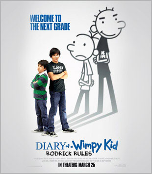 The Mooney Suzuki Rev Up the 'Wimpy Kid' 2